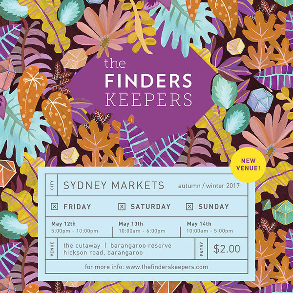 SYDNEY AW17 FINDERS KEEPERS MARKET