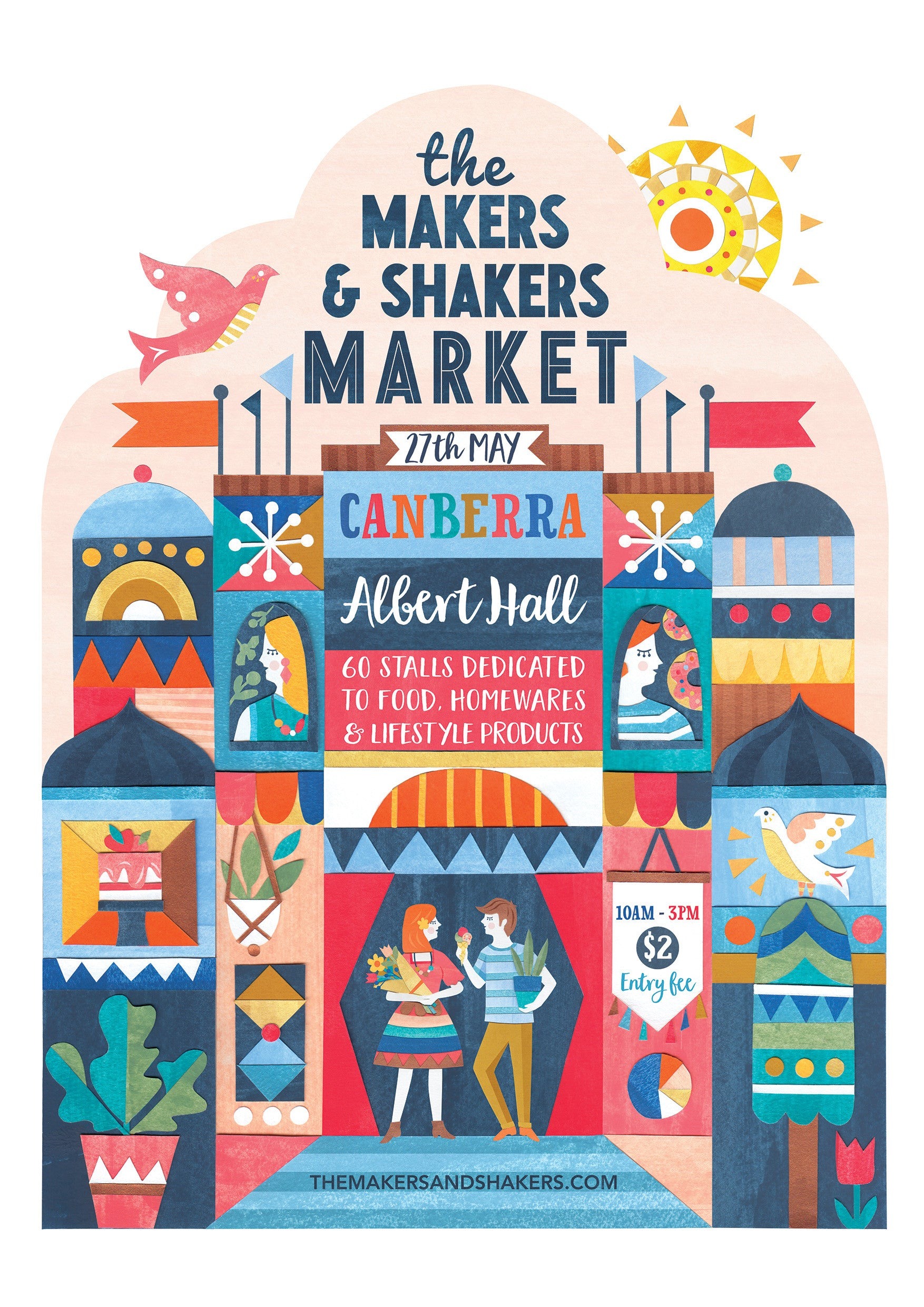 Hello Canberra! See you at The Makers & Shakers Market 27 May!