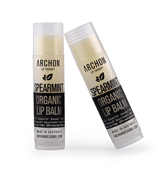 Spearmint Organic Lip Balm