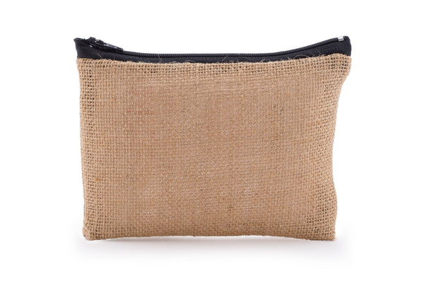 Hessian / Jute Travel Bag - Natural