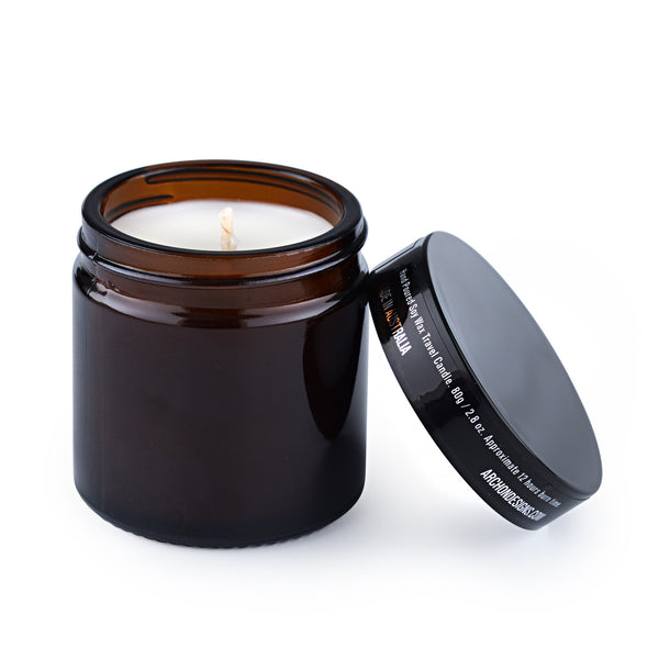 Lemongrass + Ginger Soy Candle Mini