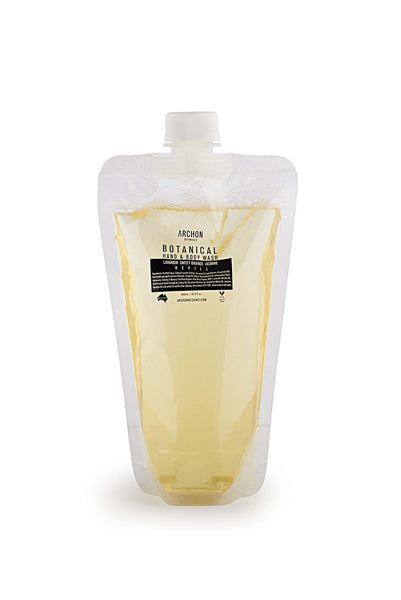 500mL - Botanical Hand & Body Wash Refill