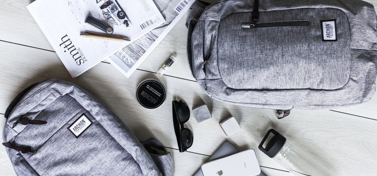 Archon Designs Travel Backpacks | Made from Recycled Plastic Bottles