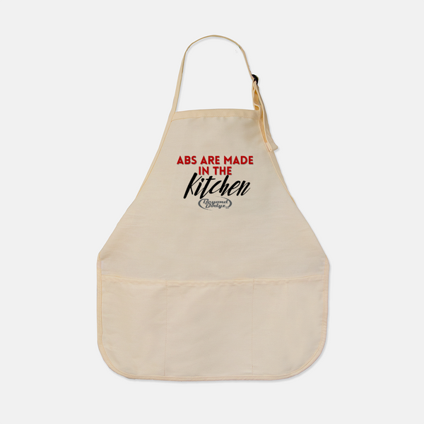 Meal Prep Apron: Abs Are Made in the Kitchen