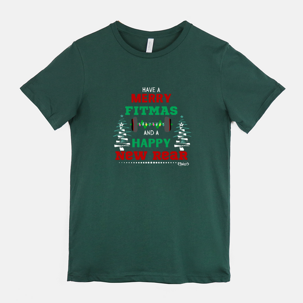 """Merry Fitmass"" Holiday Unisex Tee"