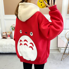 Load image into Gallery viewer, Cute Winter Hoodie Cartoonish Back