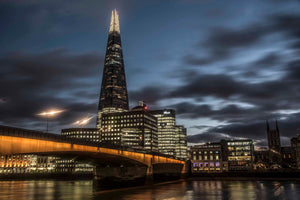 London Bridge, The Shard and Southwark Cathedral