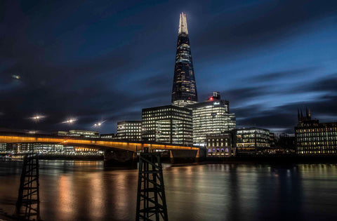 London Bridge, The Shard and The Thames