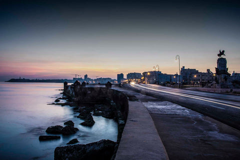 Sunrise on the Malecon, Havana, Cuba