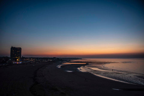 Sunset over Margate