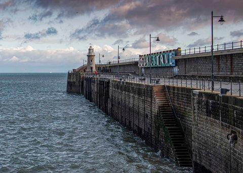 Harbour Arm and Lighthouse, Folkestone