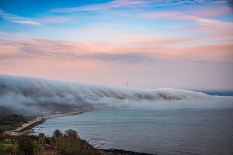 Rolling Fog Over The Warren