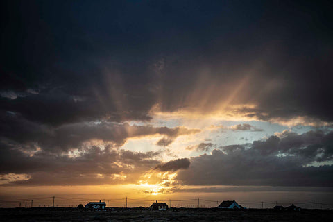 Sunset, Dungeness