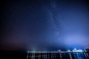 The Milky Way and Harbour Arm, Folkestone
