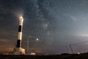 Dungeness Lighthouse and the Milky Way, Dungeness