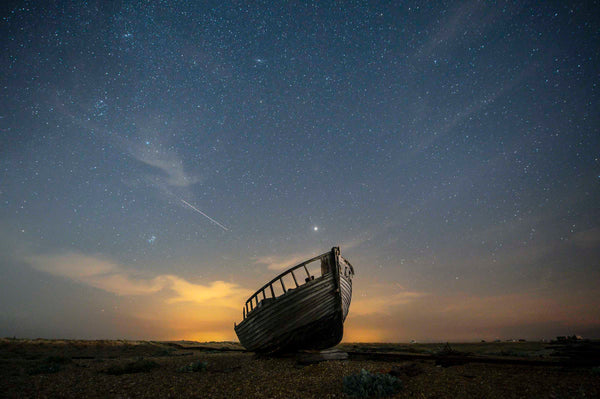 Abandoned Fishing Boat, Dungeness