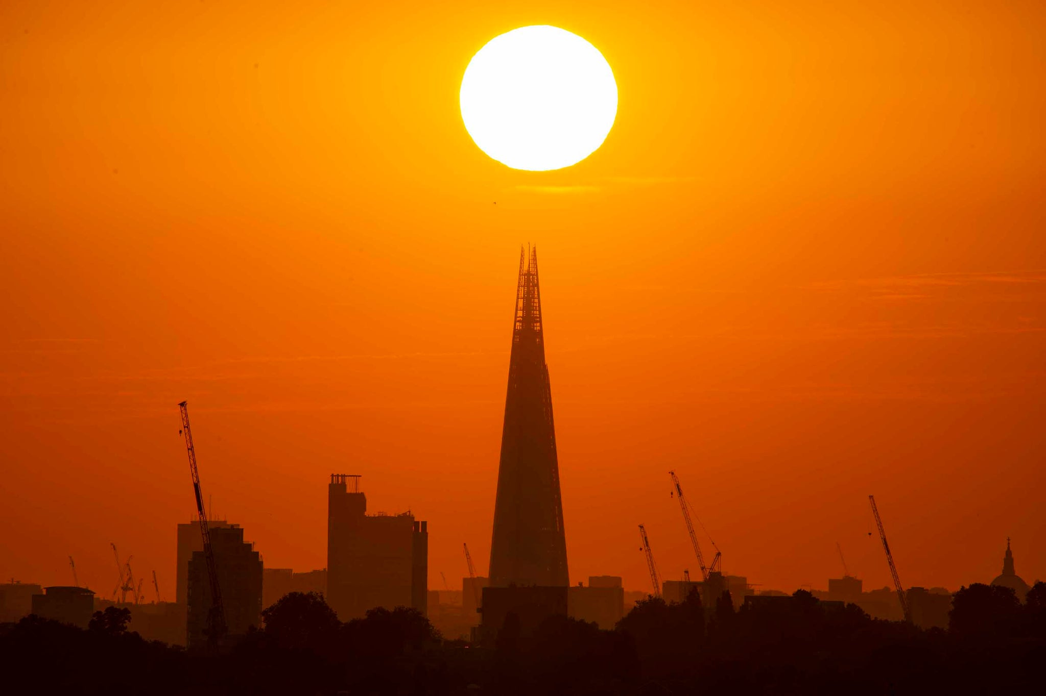 Sunset and The Shard