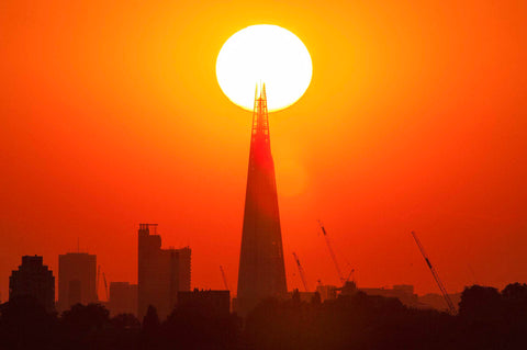 The Shard Sunset