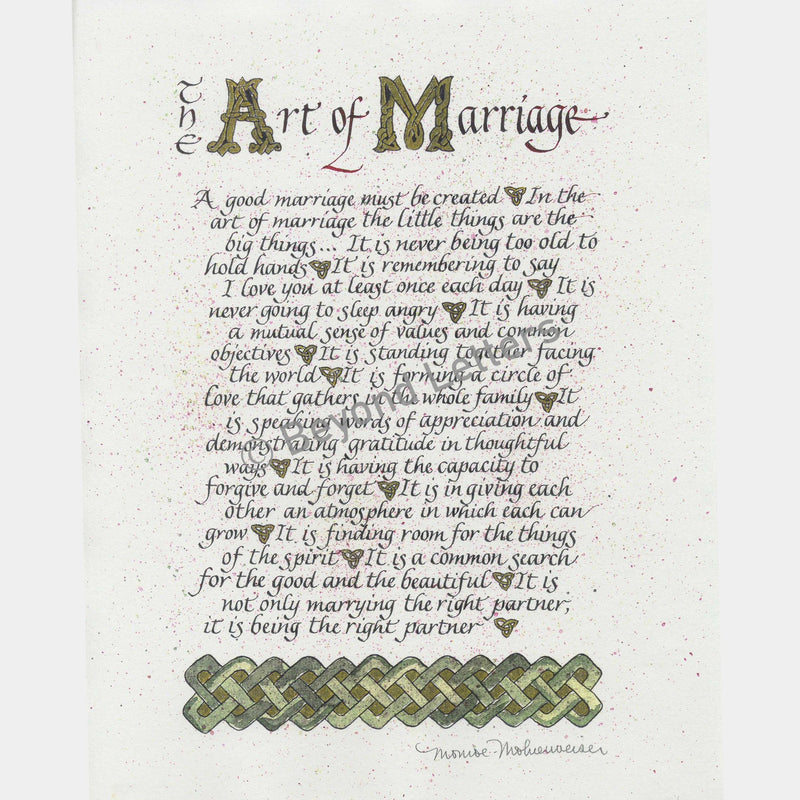 Art of Marriage | Beyond Letters