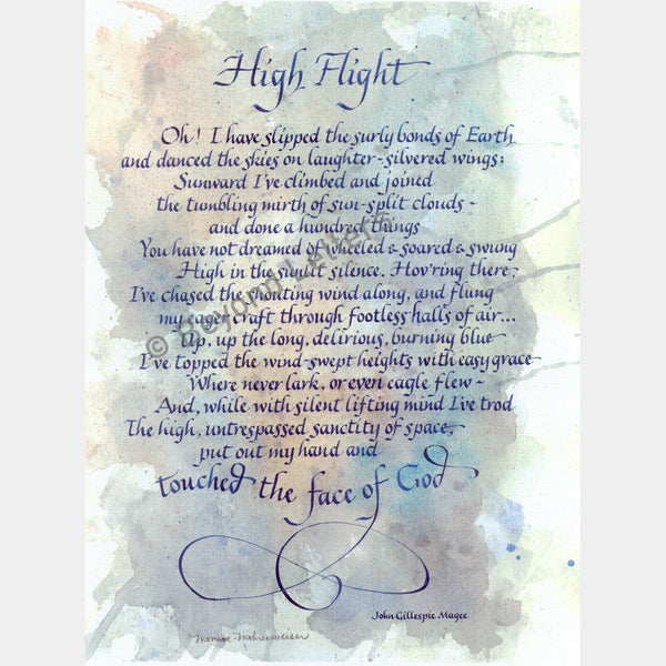 High Flight | Beyond Letters