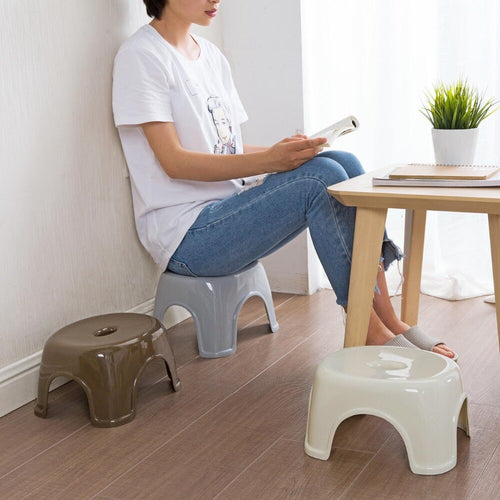 2020New Japan Style Thicken Plastic Stools Living Room Non-slip Bath Bench Children Stool Changing Shoes Stool Kids Furnitur