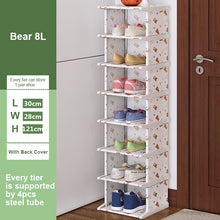 Load image into Gallery viewer, Vertical Shoe Rack Removable Shoe Organizer Shelf Living Room Corner Shoe Cabinet Home Furniture Shoes Storage for Closet
