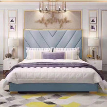 Load image into Gallery viewer, Bedroom Furniture Modern Fabric Bed Hotel Bed
