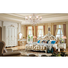 Load image into Gallery viewer, Classic luxury bed Bedroom Furniture wooden bed frame King and Queen size bed frame wooden bed Set