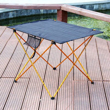 Load image into Gallery viewer, Portable Foldable Garden Furniture Table and Chair Picnic Set Al Light Weight Anti Slip Folding Table Chair