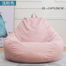 Load image into Gallery viewer, Bean Bag Sofa Chairs Cover Without Filler Pouf Lounger Chaise Living Room Furniture Puf Beanbag Sofas Ottoman Lazy Bag Office