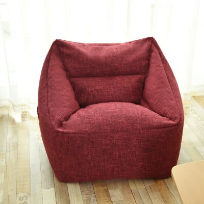 new Washable Armchair bean bag cover Cozy Game Bedroom Furniture Adults lazy Puff sofa Lounger Tatami