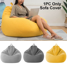 Load image into Gallery viewer, Adults Kids Large Bean Bag Chair Sofa Couch Cover Indoor Lazy Lounger No filling Puff Couch Chairs Tatami Living Room Furniture