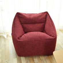 Load image into Gallery viewer, new Washable Armchair bean bag cover Cozy Game Bedroom Furniture Adults lazy Puff sofa Lounger Tatami