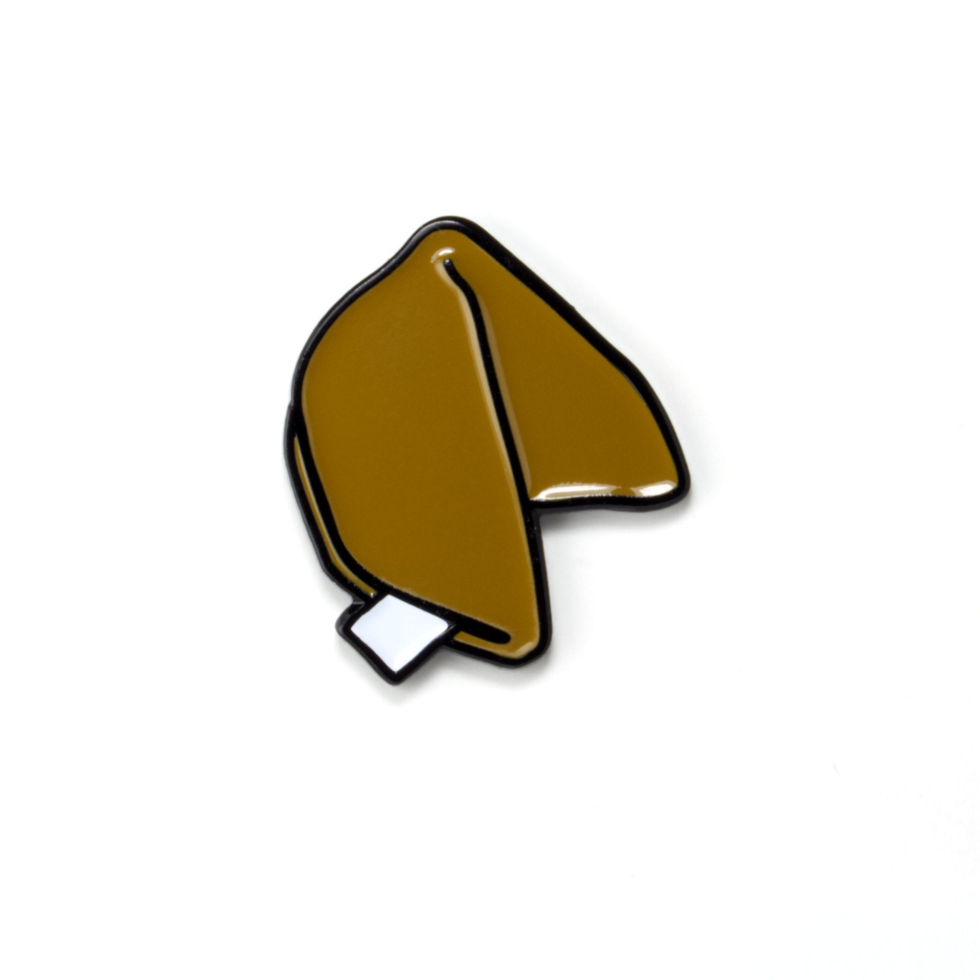 Fortune Cookie Enamel Pin