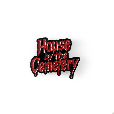 House by the Cemetery Enamel Pin