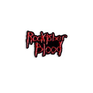 Rocktober Blood Enamel Pin