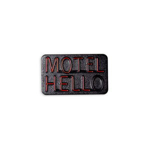 Motel Hell Enamel Pin