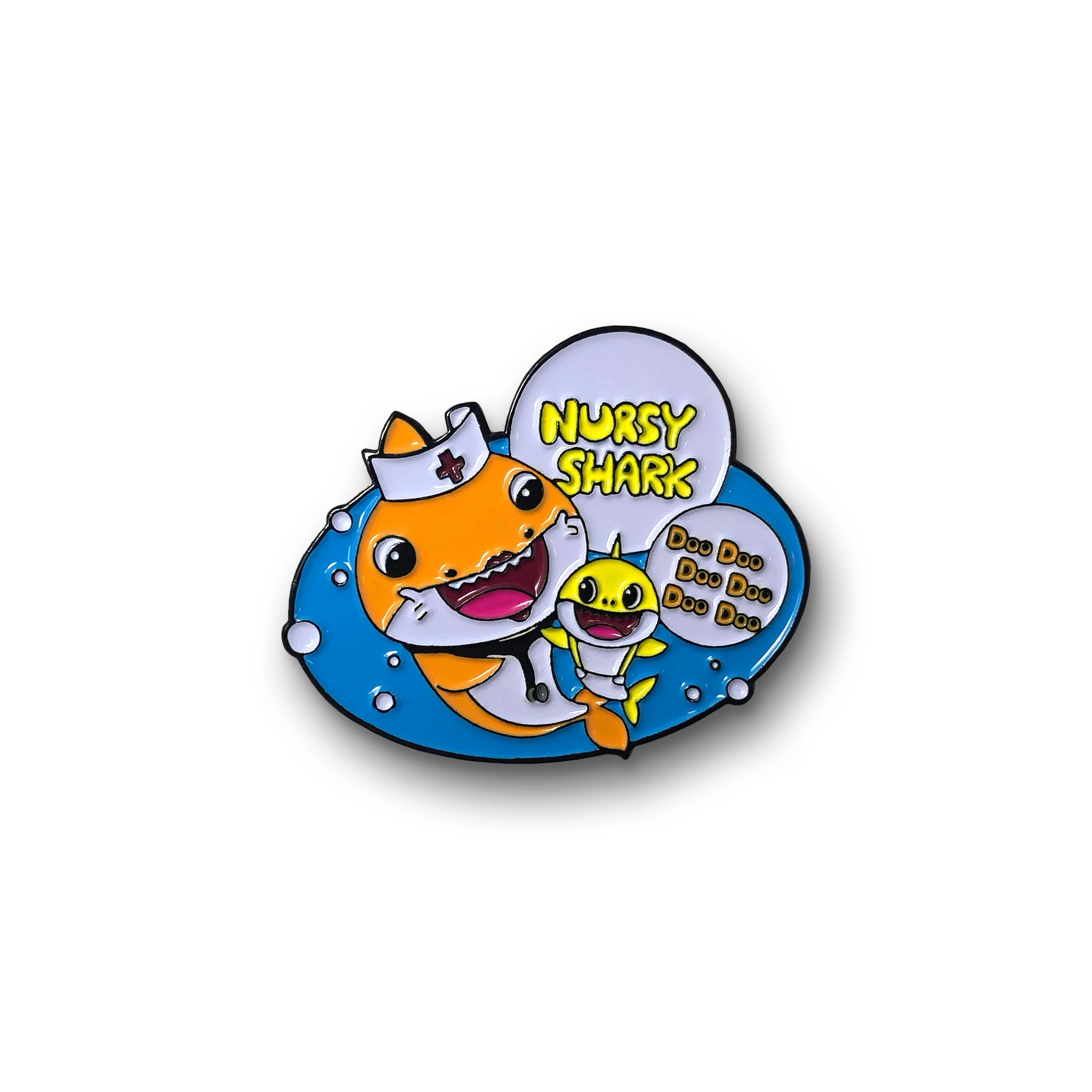 Nursy Shark Pin