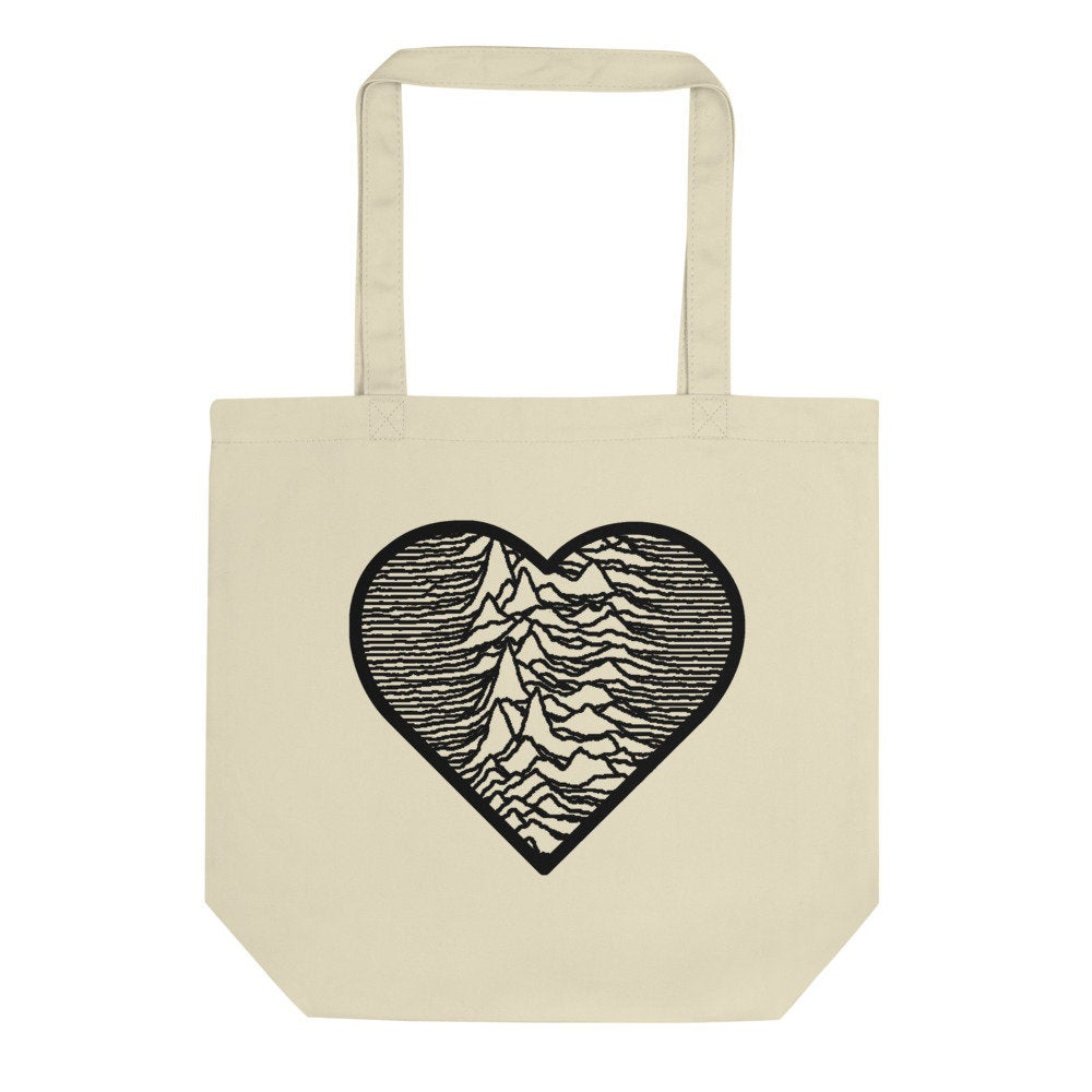 Unknown Pleasures Organic Cotton Tote