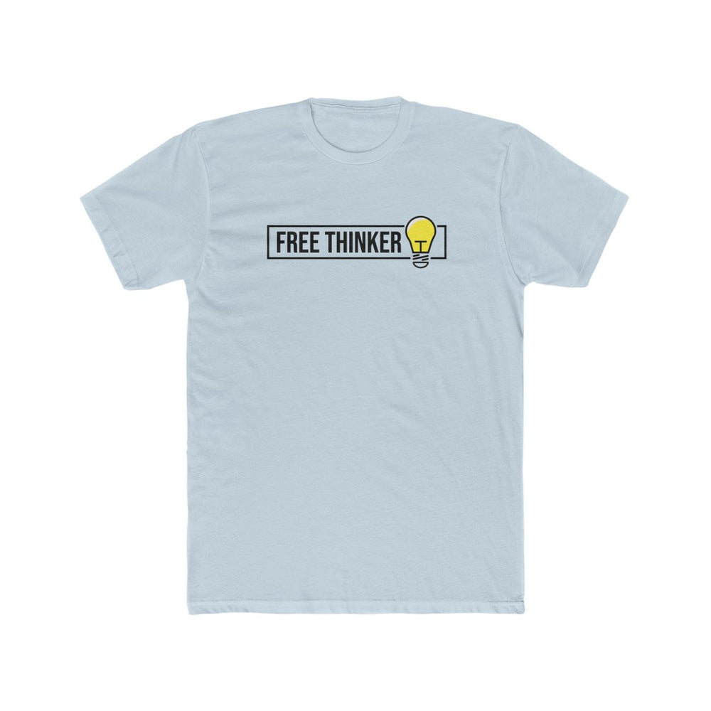 Free Thinker - Men's Cotton Crew Tee