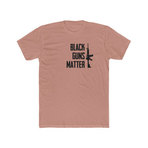 Black Guns Matter - Men's Cotton Crew Tee