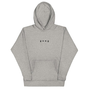 Gang - Embroidered Unisex Hoodie