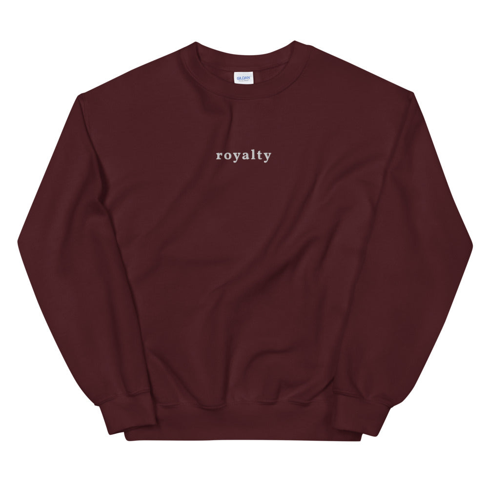 Royalty - Embroidered Unisex Sweatshirt