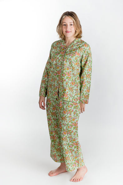 Pyjama AZADI Green Romantic