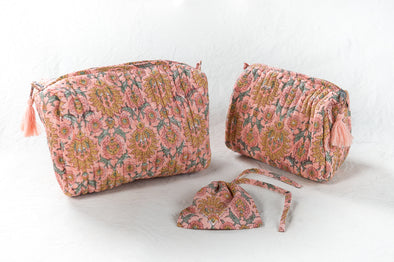 Trousse  AZADI  Peach Romantic