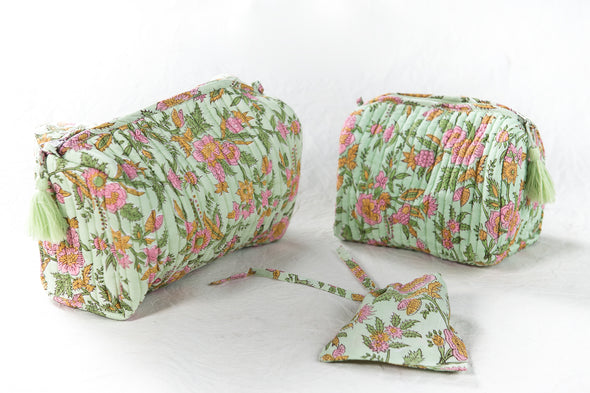 Trousse  AZADI Green Romantic
