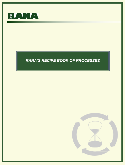 RANA's Recipe Book of Processes