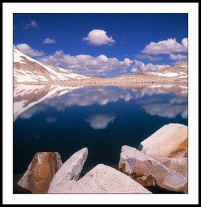 Limited ed. Nature Print - Muir Pass, California