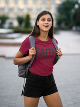 Load image into Gallery viewer, Faith Over Fear - Unisex Jersey Short Sleeve Tee