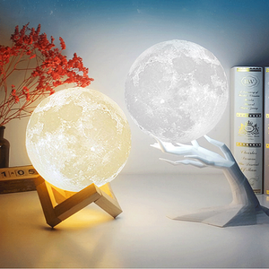 Favorite One for you-3D Printing Moon Lamp